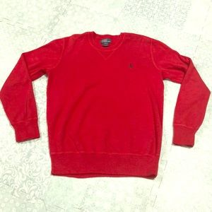 Polo by Ralph Lauren Red Boys Sweater